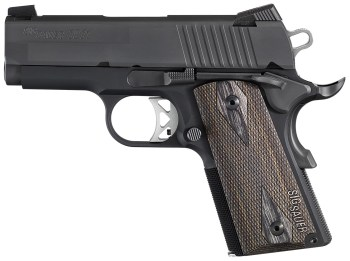 SIG Ultra handgun left profile