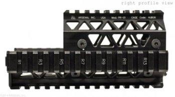 Precision Quad Rail Handguard System side PR-01 Precision Picatinny Quad Rail Handguard System