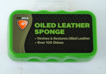 oiled leather sponge for leather