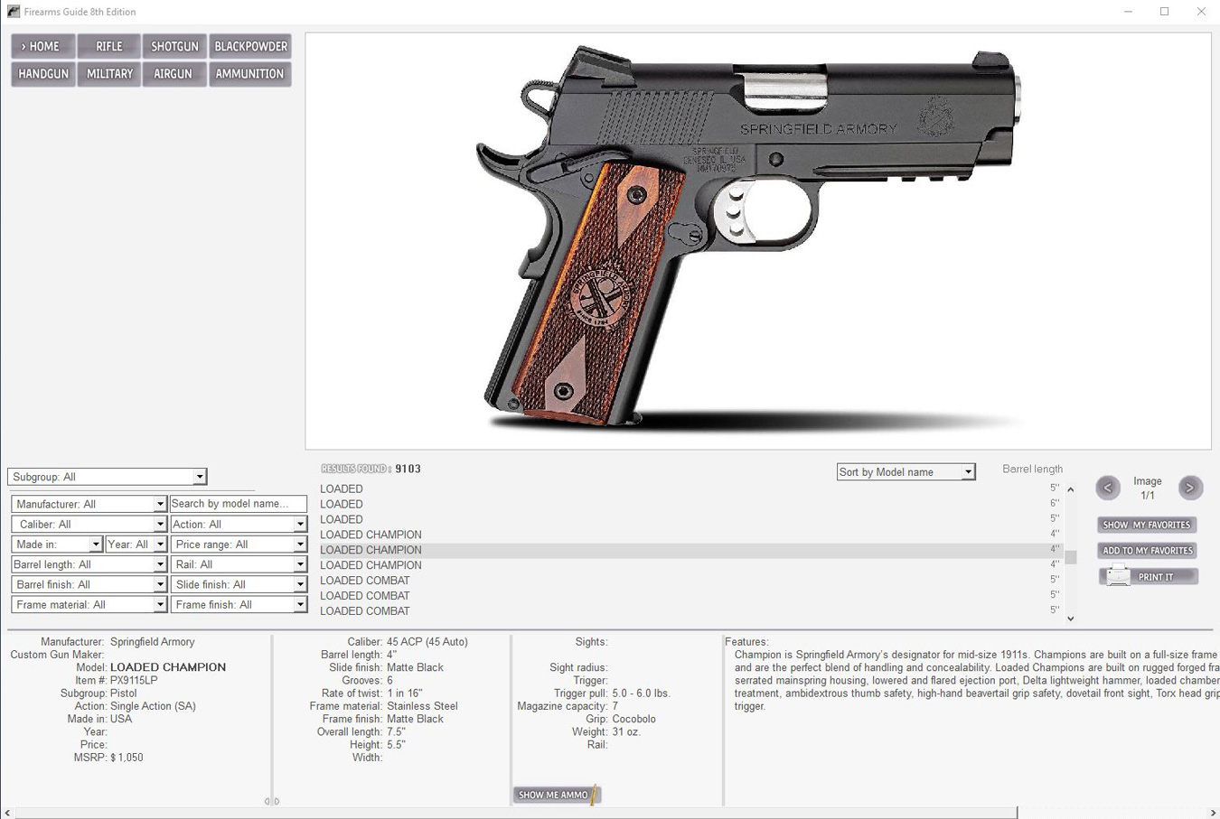 The Firearms Guide — The Smart Source - The K-Var Armory on