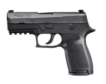SIG P365 handgun left profile