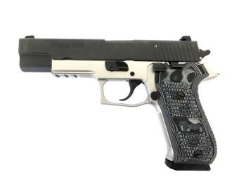 SIG P220-10 pistol left profile