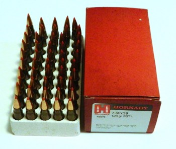Hornady SST ammunition for an AK rifle
