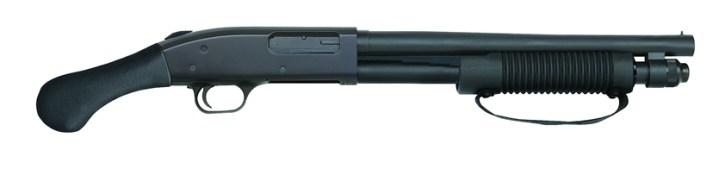 Mossberg 590 Shockwave shotgun right profile