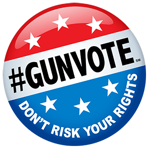 NSSF #GunVote button