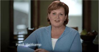 North Dakota Sen. Heidi Heitkamp