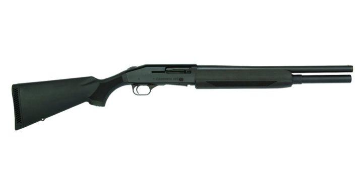 Mossberg 930 shotgun right, black, profile