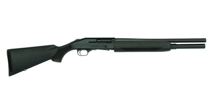 Mossberg 930 shotgun right, black, profile