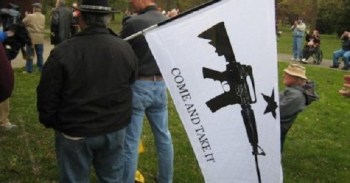 Gun activists at Washington State rally for preemption