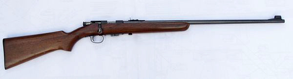 Winchester Model 69 .22 LR rifle right profile