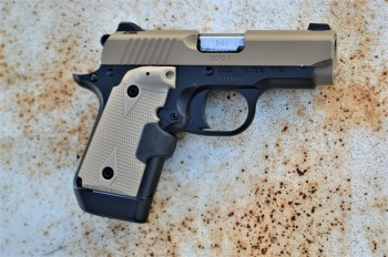 Kimber Micro 9 with Crimson Trace laser grip