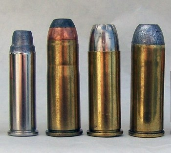 A line of handgun caliber cartridges