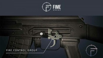 AK-47 featuring the FIME Enhanced Fire Control Group