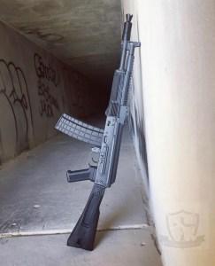 5.56 AK Rifle