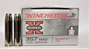 Winchester Super X .357 magnum ammunition box