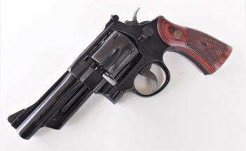 Smith and Wesson Model 27 revolver left profile