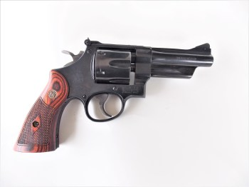 Smith and Wesson Model 27 revolver right profile