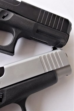 Glock 45 and GLock 48 dust cover comparison