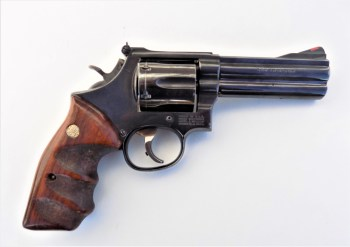 factory tuned Smith and Wesson Model 586 .357 Magnum revolver