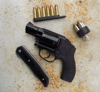 Polymer frame Smith and Wesson revolver