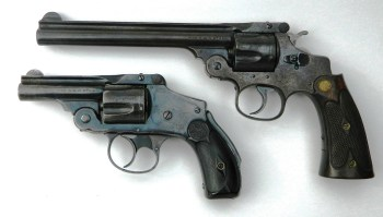 Smith and Wesson top break revolvers