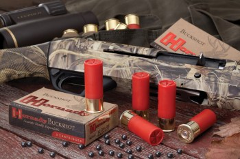 Shotgun and shells from Hornady