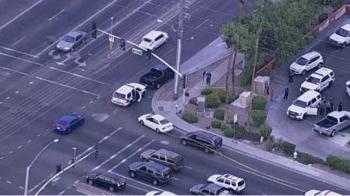 Police scene from good guys shooting