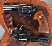 S&W 586 with Colt Python