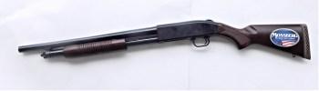 Mossberg Persuader 12 gauge shotgun left profile