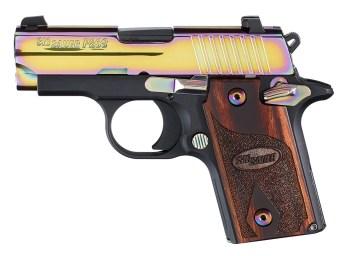 SIG P238 .380 ACP Rainbow