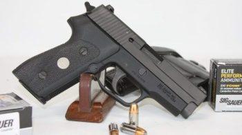 SIG Sauer black pistol