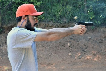 Ryan Flowers shooting the Citadel 1911 9mm pistol