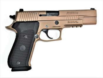 SIG Sauer Emperor Scorpion pistol right profile bronze color