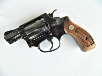 five-shot .38 J Frame revolver