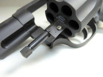 Taurus 856 revolver cylinder front view