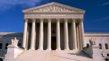 U.S. Supreme Court building and stairs