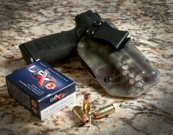 Springfield Armory XD45 and Corbon DPX ammunition