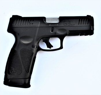 Taurus G3 9mm pistol black profile