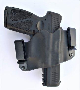Taurus pistol in a Phalanx Kydex IWB holster