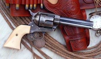 original .44-40 Colt SAA revolver