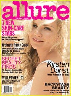 Allure magazine Dec 2009 cover