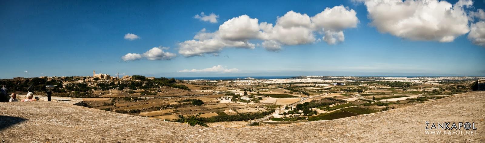 Najvišja točka Malte – Mdina