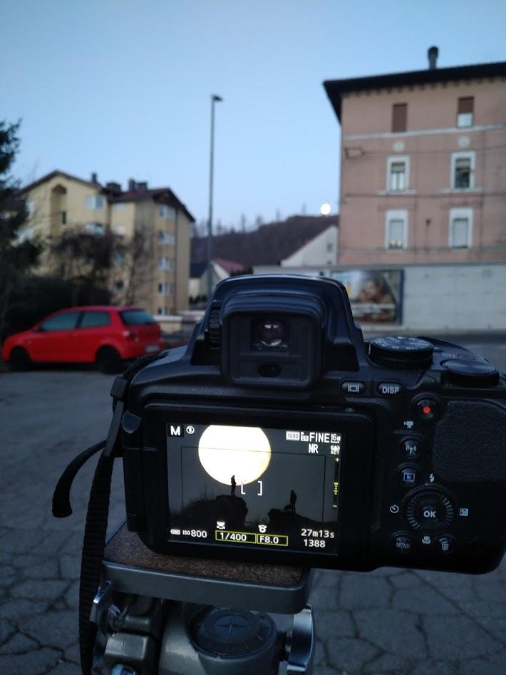 Fotografiranje Soviča z Luno