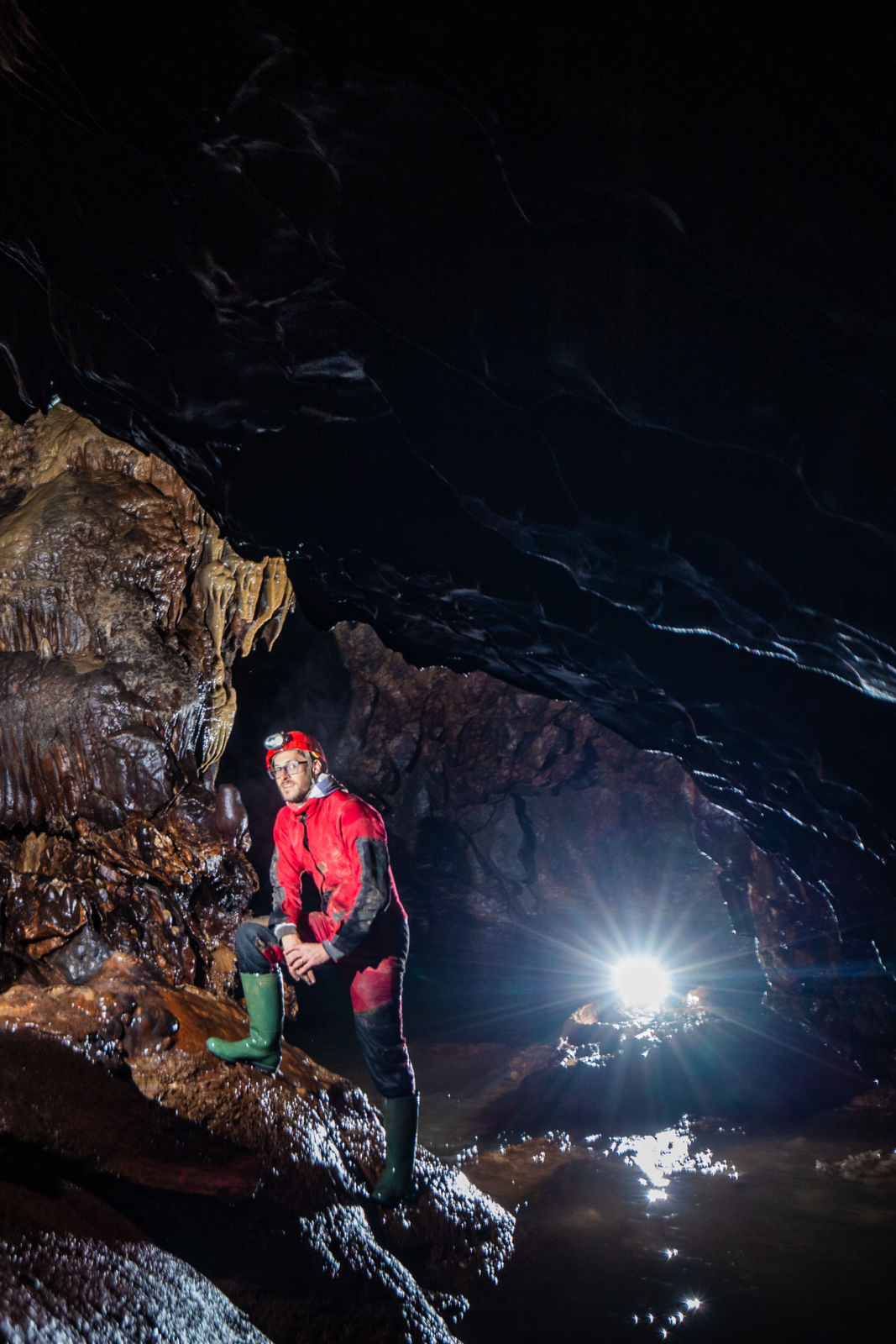Jamar v jami za Predjamskim gradom