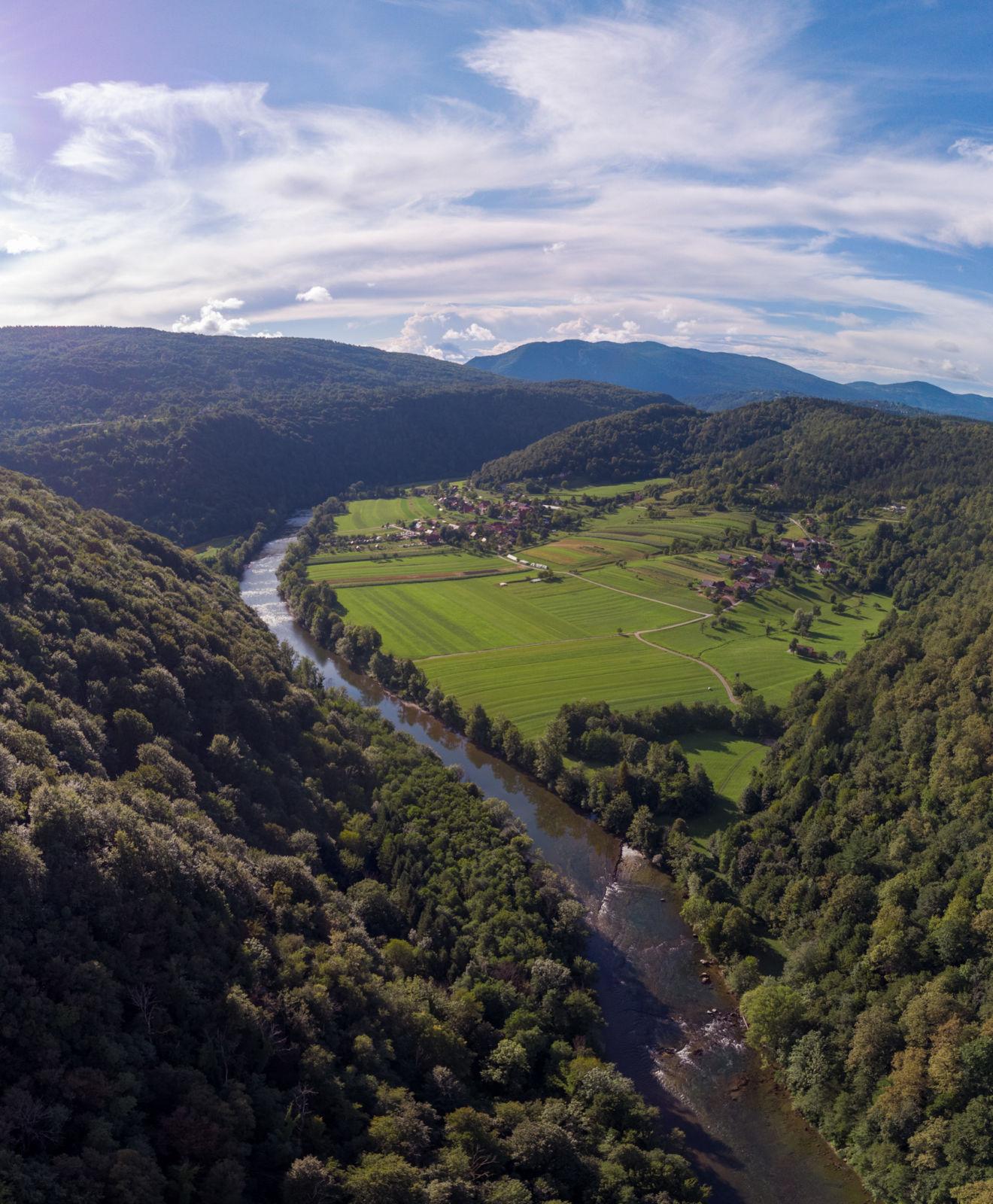 Reka Kolpa - Gorenji Radenci