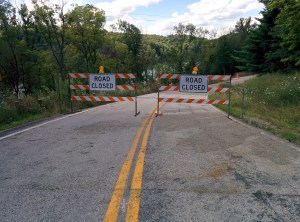 Road Closed. Really, we're not kidding!