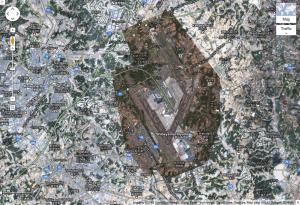 成田空港周辺図