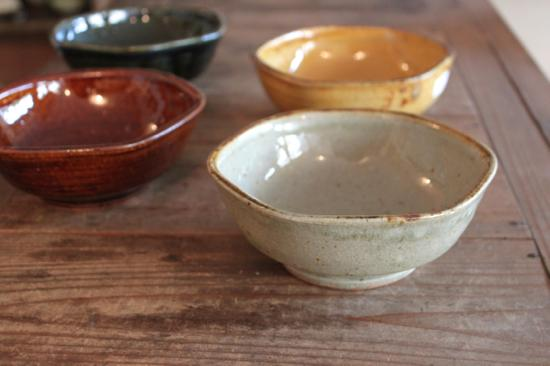 まゆみ窯の六角深鉢