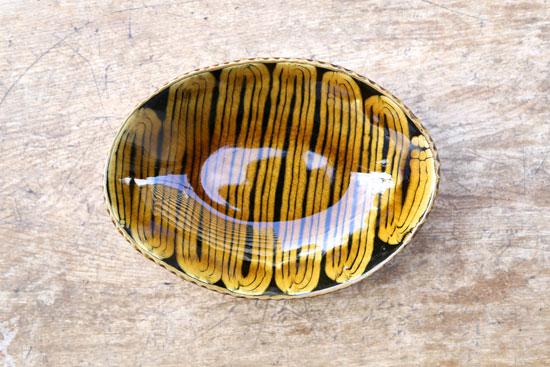 十場天伸 楕円鉢
