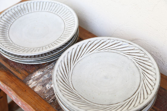 福田るい 8寸皿
